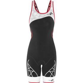 KiWAMi Spider Openback Trisuit Damen black/red/white